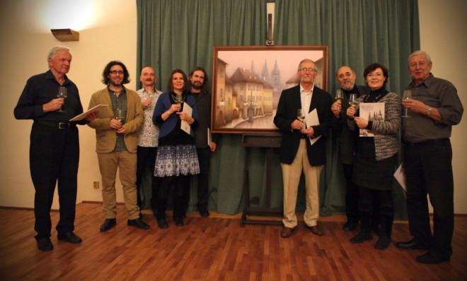 Koncert Spiritual Kvintet v Emauzech