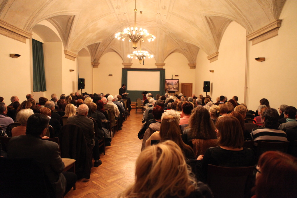 Křest nové bibliofilie Ivana Svatoše Pražský hrad a Hradčany